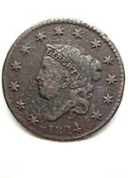 1824/2   CORONET HEAD LARGE CENT.