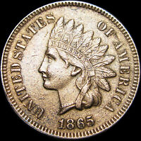 1865 INDIAN HEAD CENT PENNY ---  --- V667