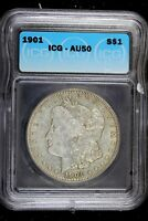 1901 - ICG AU50 MORGAN DOLLAR B17157