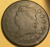 1811/0 CLASSIC HEAD LARGE CENT GOOD S-286 R-3
