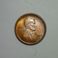 1918 S  LINCOLN CENT  BU DETAIL