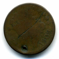 1809 1/2 PENNY US HALF CENT CLASSIC HEAD US  LOW MINTAGE KEY DATECOIN401