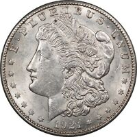 1921-S MORGAN DOLLAR - HIGH GRADE NEARLY UNCIRC LOOKS CHOICE