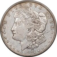 1921-S MORGAN DOLLAR - HIGH GRADE EXAMPLE