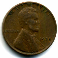 1935 P WHEAT CENT 1 CENT KEY DATE US CIRCULATED ONE LINCOLN  COIN1663