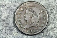 ESTATE FIND 1814 - CLASSIC HEAD LARGE CENT J04751