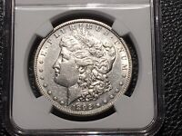 1892-S MORGAN DOLLAR NGC EXTRA FINE  CLEANED ORIGINAL MINT LUSTER