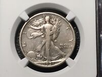 1921 WALKING LINERTY HALF NGC VF DETAILS   LIGHT CLEANING