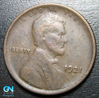 1921 S LINCOLN CENT WHEAT CENT  --  MAKE US AN OFFER  B1666
