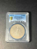 GREAT BRITAIN TRADE DOLLAR 1902 BOMBAY UNCIRCULATED PCGS UNC CLEANED