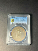 GREAT BRITAIN TRADE DOLLAR 1902 BOMBAY TONED UNCIRCULATED PCGS UNC CLEANED