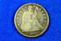 ESTATE  FIND  1860    O SEATED LIBERTY DOLLAR     G5694