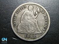 1888 S SEATED DIME --  MAKE US AN OFFER  B2250