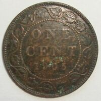 1905 CANADA ONE 1 CENT EDWARD VII LARGE PENNY COIN