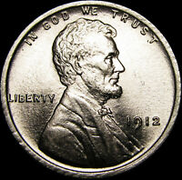 1912 LINCOLN CENT WHEAT CENT  ---- GEM BU  ---- A975