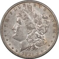 1881 MORGAN DOLLAR - HIGH GRADE EXAMPLE