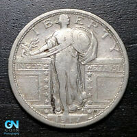 1917 S TYPE 1 STANDING LIBERTY QUARTER  --  MAKE US AN OFFER  B3023