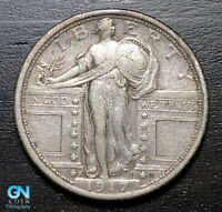 1917 S TYPE 1 STANDING LIBERTY QUARTER  --  MAKE US AN OFFER  B3203