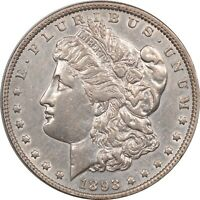1893 MORGAN DOLLAR - HIGH GRADE EXAMPLE CLEANED