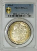 1904-S MORGAN DOLLAR $ MINT STATE 64 PCGS SECURE 942028-1