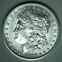 1890 S MORGAN SILVER DOLLAR COIN US ONE DOLLAR $1 SAN FRANCISCO UNCIRCULATED