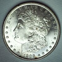 1902 O MORGAN SILVER DOLLAR COIN UNCIRCULATED ONE DOLLAR US COIN NEW ORLEANS $1