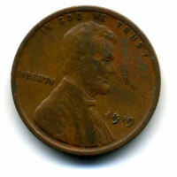 1919 P WHEAT CENT KEY DATE US CIRCULATED ONE LINCOLN  1 CENT U.S COIN 1621