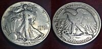 1941-S 50C WALKING LIBERTY HALF DOLLAR PROOF VG/F