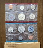 1963 US MINT UNCIRCULATED SILVER COIN SET  P&D
