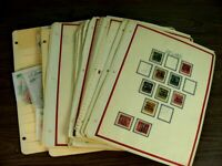 US ALABAMA 100S OF PRECANCEL STAMPS  MOSTLY HINGED ON PAGES