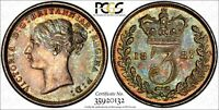GREAT BRITAIN VICTORIA SILVER 1887 3 PENCE PCGS PL64 PROOFLI