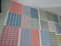 NYSTAMPS E MINT NH US & BOB AIR MAIL STAMP SHEET COLLECTION