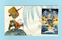 U.S. FDC 2631 2634 UNKNOWN CACHET   COMPLETE SET OF SPACE AC