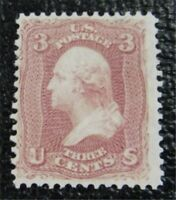 NYSTAMPS US STAMP  65 MINT OG H $125