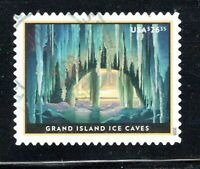 2020 SC 5430 $26.35 GRAND ISLAND ICE CAVES EXPRESS MAIL STAM
