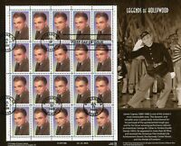 U.S. USED MINISHEET SELECTIONS: SCOTT 3329 LEGENDS OF HOLLYW
