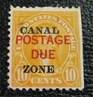 NYSTAMPS US CANAL ZONE POSTAGE DUE STAMP  J17 MINT OG H $55
