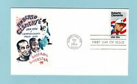 U.S.FDC 2097 UNKNOWN CACHET   HONORING BASEBALL PLAYER ROBER