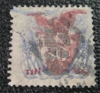 NYSTAMPS US STAMP  121 USED $425 GRILL