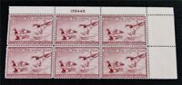 NYSTAMPS US DUCK PLATE BLOCK STAMP  RW13 MINT OG NH $310 PLA