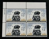 NYSTAMPS US DUCK PLATE BLOCK STAMP  RW26 MINT OG NH $550 PLA