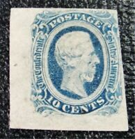 NYSTAMPS US CSA CONFEDERATE STAMP  12 MINT H $20