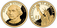 2007 S GEM PROOF GEORGE WASHINGTON PRESIDENTIAL DOLLAR UNCIRCULATED DCAM COIN PF