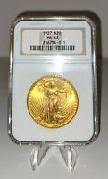 1927 $20 GOLD ST. GAUDENS  DOUBLE EAGLE NGC MS 63   STUNNING