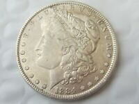 1884 MORGAN SILVER DOLLAR /   COLOR & DETAIL