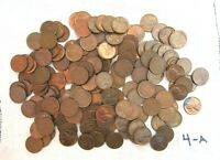 LOT 113 1952  LINCOLN COPPER WHEAT PENNIES FROM ESTATE US COINS