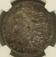 1899 P MORGAN SILVER DOLLAR NGC MINT STATE 63 BEAUTIFUL IN HAND PL STRIKE