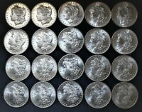 HIGH GRADE BU SEMI PL ORIGINAL ROLL 1904-O MORGAN SILVER DOLLARS-SALE 1 COIN EA.