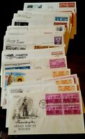 US STAMPS FIRST DAY COVERS 1950S ALL IN EXCELLENT CONDITION SET OF 5 DIF