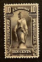 US STAMPS SCOTT PR117 NEWSPAPERS AND PERIODICALS 10C 1895 BL